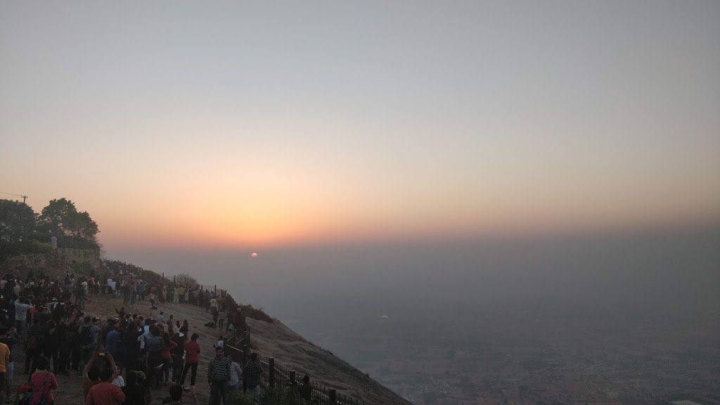 Sunrise from Nandi Hills.