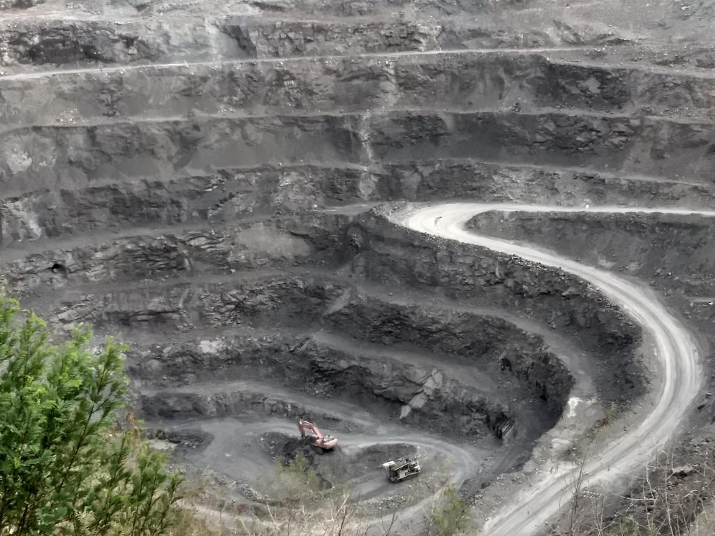 Diamond mine in Panna, India