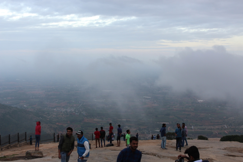 At Nandi Hills.
