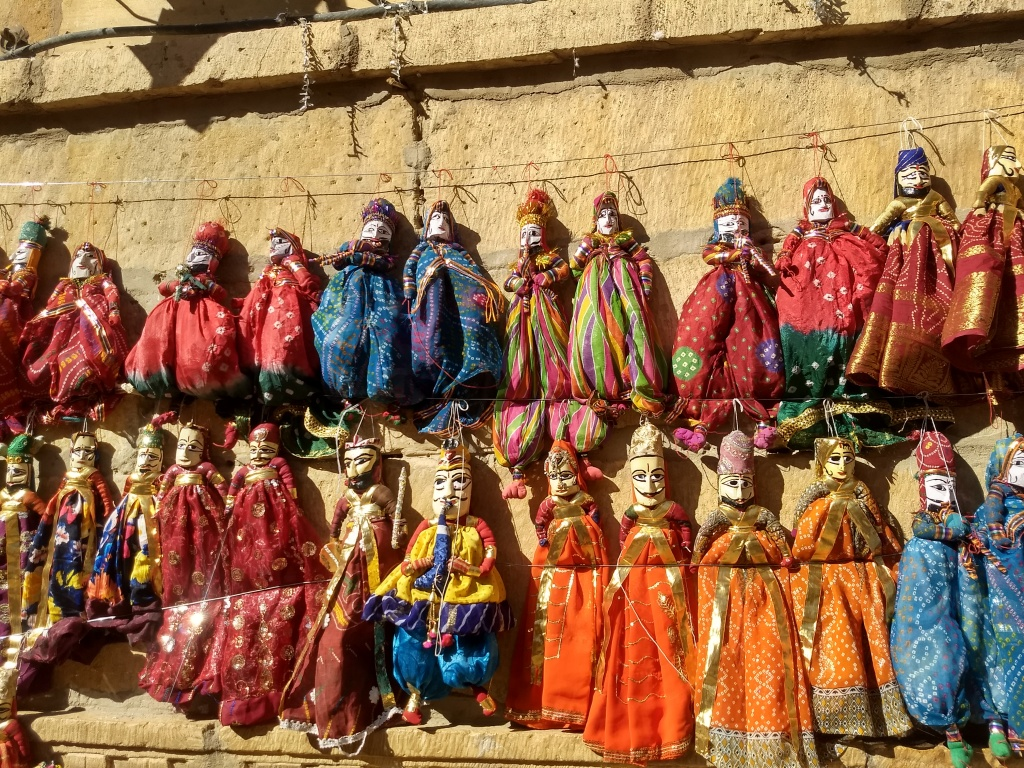 Puppets for sale in jaisalmer.